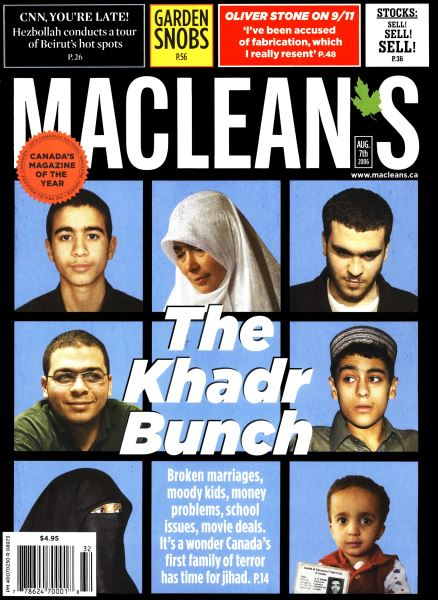 Issue: - AUG. 7th 2006 | Maclean's