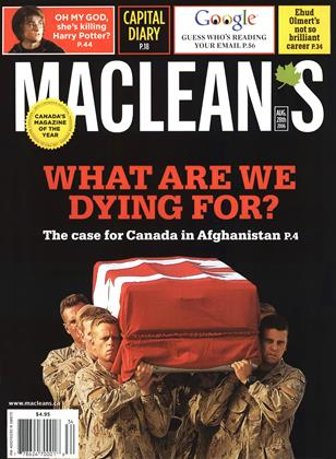 Cover for the August 28 2006 issue