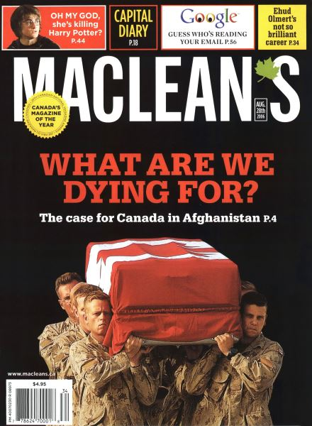 Issue: - AUG. 28th 2006 | Maclean's