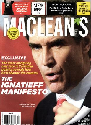 Cover for the September 4 2006 issue
