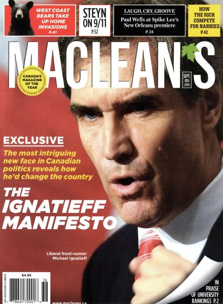 Issue: - SEPT. 4th 2006 | Maclean's