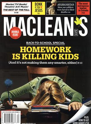 SEPT. 11th 2006 | Maclean's