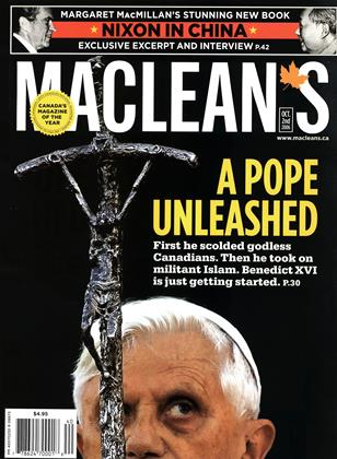 Cover for the October 2 2006 issue