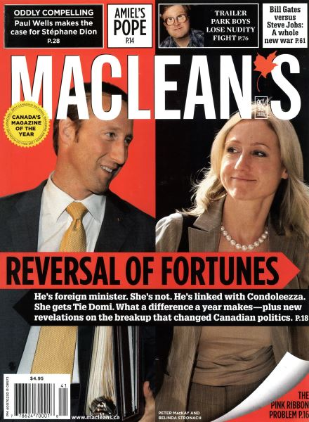 Issue: - OCT. 9th 2006 | Maclean's