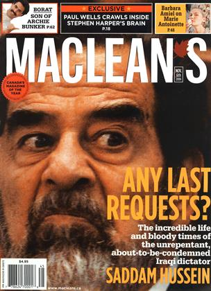 NOV. 6th 2006 | Maclean's