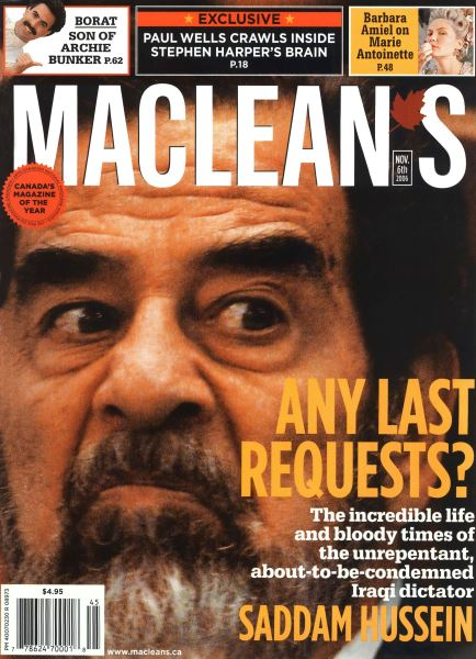 Issue: - NOV. 6th 2006 | Maclean's