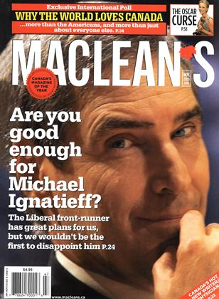 NOV. 20th 2006 | Maclean's