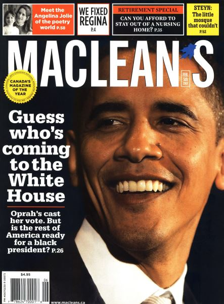 Issue: - FEB. 5th 2007 | Maclean's