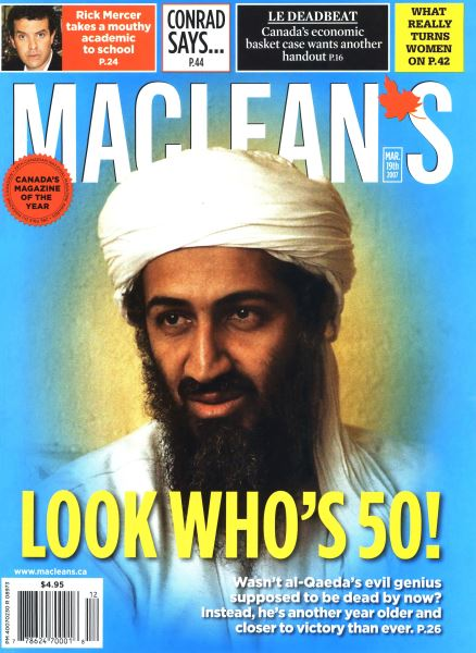 Issue: - MAR. 19th 2007 | Maclean's