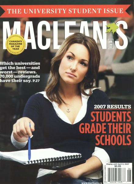 Issue: - APR. 2nd 2007 | Maclean's