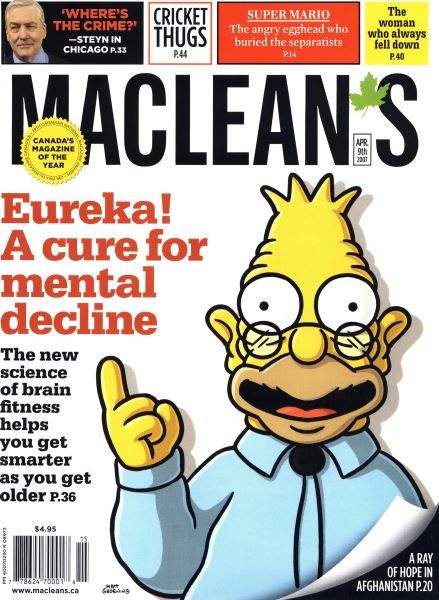 Issue: - APR. 9th 2007 | Maclean's