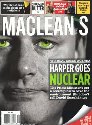 Cover for the May 7 2007 issue