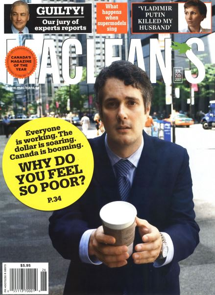 Issue: - JUN. 25th 2007 | Maclean's