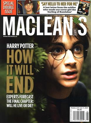 Cover for the July 9 2007 issue