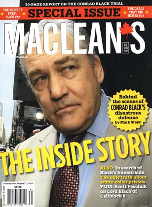 JUL. 30th 2007 | Maclean's