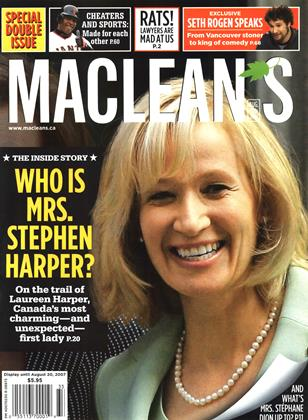 Cover for the August 13 2007 issue