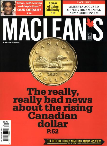 Issue: - OCT. 8th 2007 | Maclean's