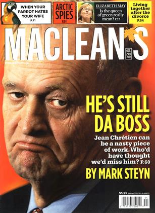 Cover for the October 29 2007 issue