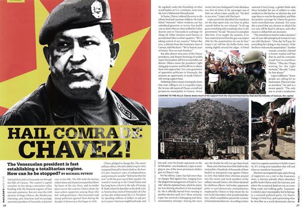 HAIL COMRADE CHAVEZ!