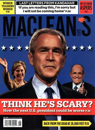 Cover for the November 12 2007 issue