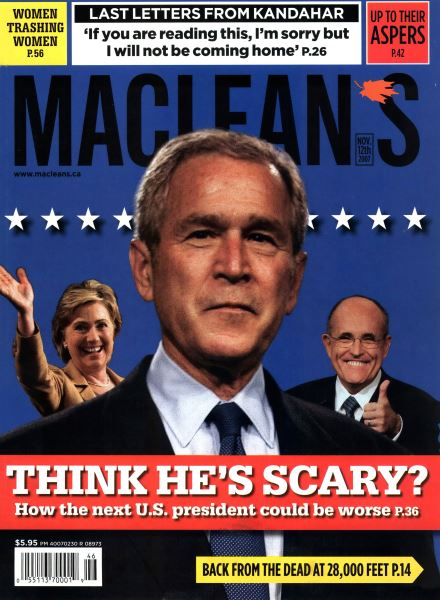 Issue: - NOV. 12th 2007 | Maclean's