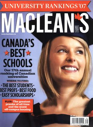 Cover for the November 19 2007 issue
