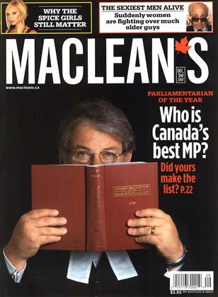 Cover for the December 3 2007 issue