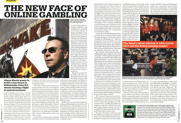 THE NEW FACE OF ONLINE GAMBLING | Maclean's | DEC  3rd 2007