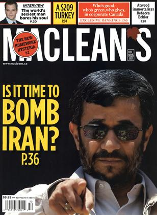 Cover for the December 10 2007 issue