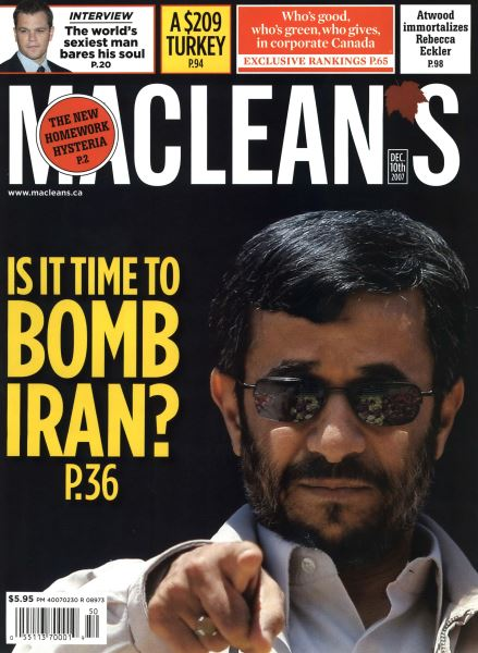Issue: - DEC. 10th 2007 | Maclean's