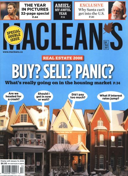 Issue: - DEC. 31st 2007 | Maclean's