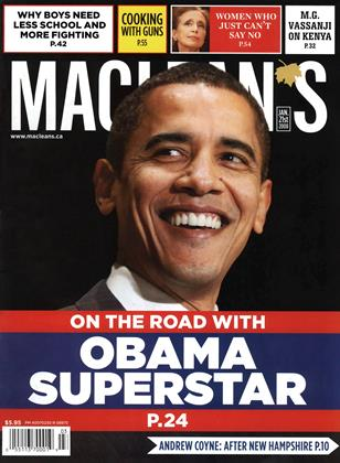 Cover for the January 21 2008 issue
