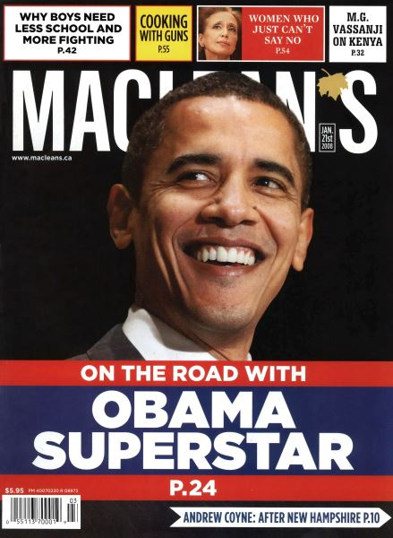 Issue: - JAN. 21st 2008 | Maclean's