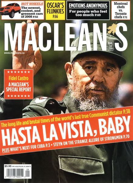 Issue: - MAR. 3rd 2008 | Maclean's
