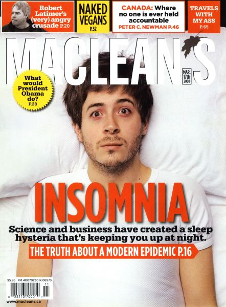 Issue: - MAR. 17th 2008 | Maclean's