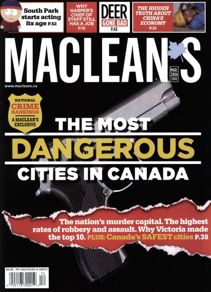 Issue: - MAR. 24th 2008 | Maclean's