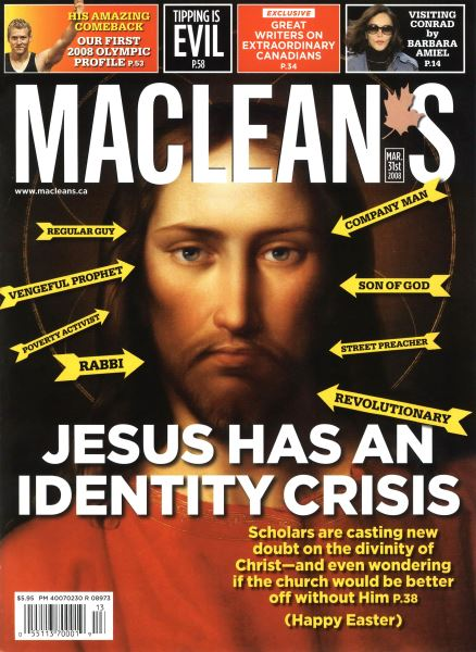 Issue: - MAR. 31st 2008 | Maclean's