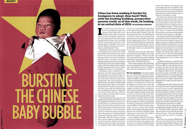 BURSTING THE CHINESE BABY BUBBLE