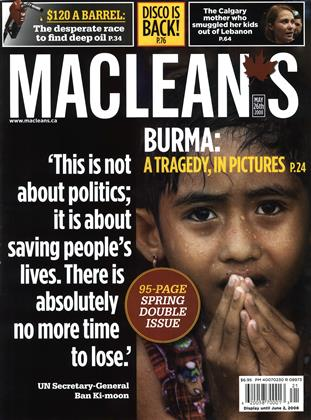 MAY 26th 2008 | Maclean's