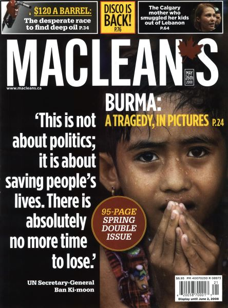 Issue: - MAY 26th 2008 | Maclean's