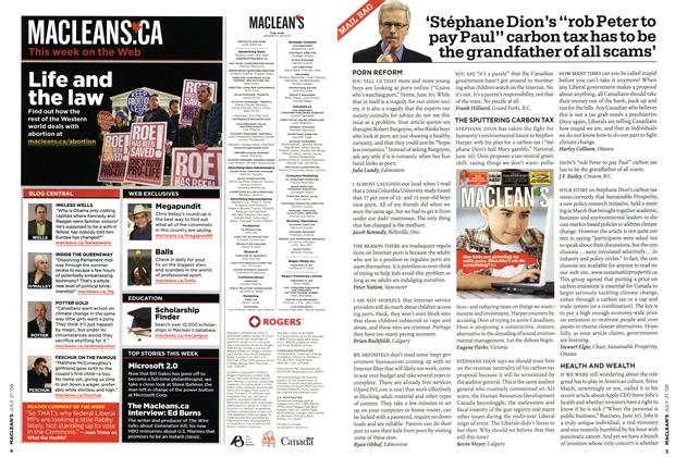 Advertisement, Page: 4 - JULY 21st 2008   Maclean's