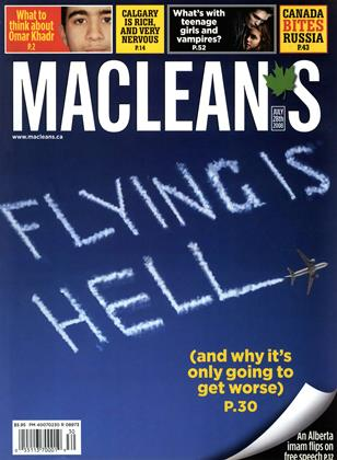Cover for the July 28 2008 issue