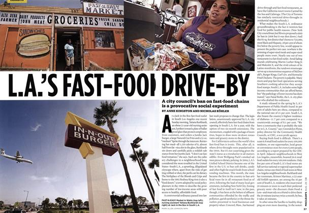 L.A.'S FAST-FOOD DRIVE-BY