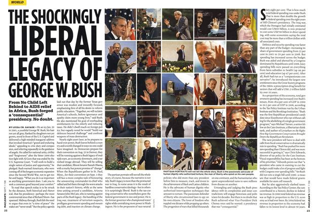 THE SHOCKINGLY LIBERAL LEGACY OF GEORGE W.BUSH