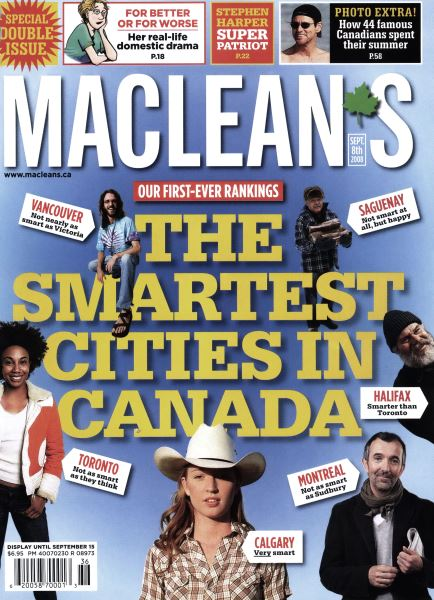 Issue: - SEPT. 8TH 2008 | Maclean's