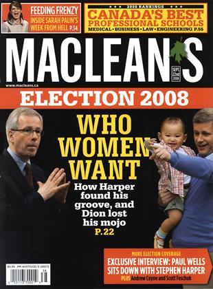 Cover for the September 22 2008 issue