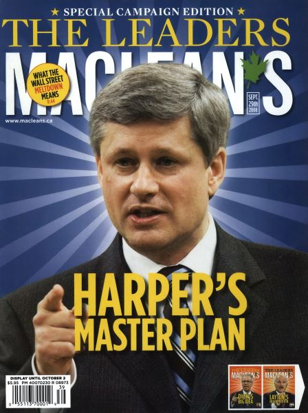 Issue: - SEPT. 29th 2008 | Maclean's
