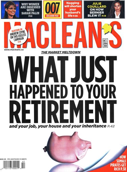 Issue: - October 2008 | Maclean's