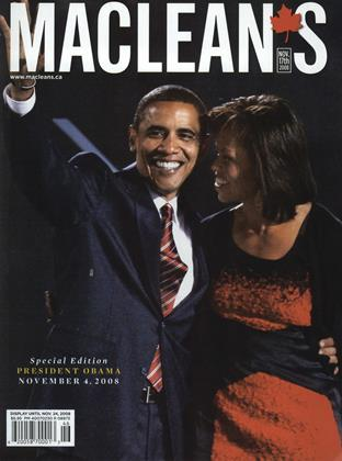 Cover for the November 17 2008 issue
