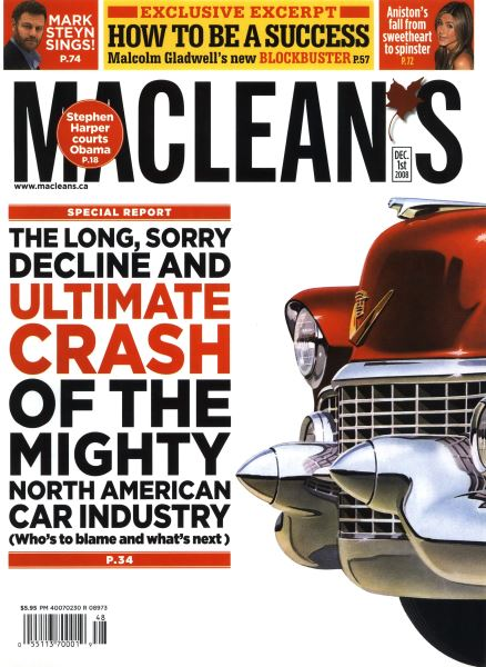 Issue: - DEC. 1st 2008 | Maclean's